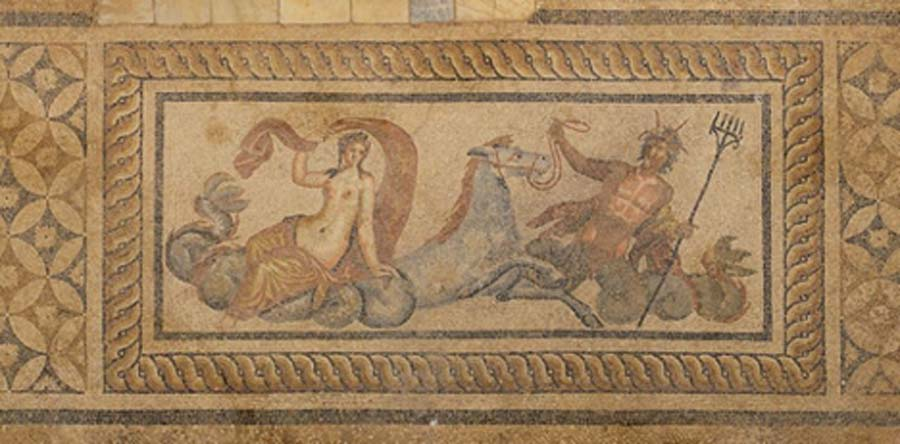 Second Century Nereid Mosaic From Hillside Houses of Ephesus ( CC BY-SA 2.0)