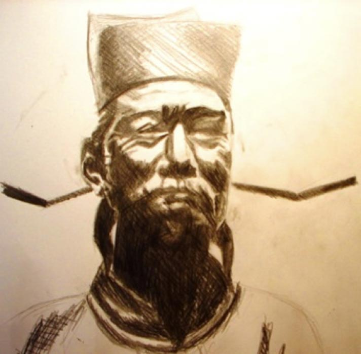 "Shen Kuo (1031-1095 A.D.) Chinese scientist, author of writings on Chinese ""magic"" mirrors (CC BY-SA 3.0)"