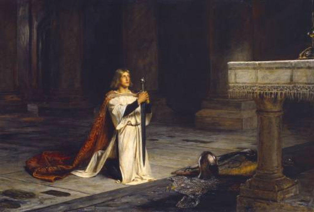 Gawain represented the perfect knight, as a fighter, a lover, and a religious devotee.