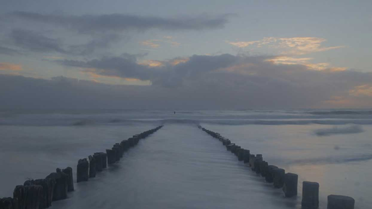 North Sea once formed a land-bridge between Europe and Britain.