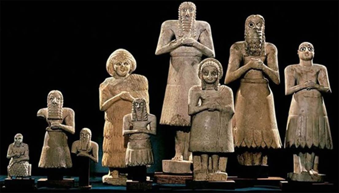 The Sumerian Pantheon. ( Fredsvenn)
