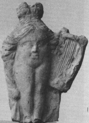 Terracotta Baubo figurine from Priene. (Public Domain)