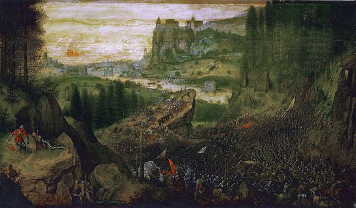 The Suicide of Saul by Pieter Brueghel the Elder (1562)