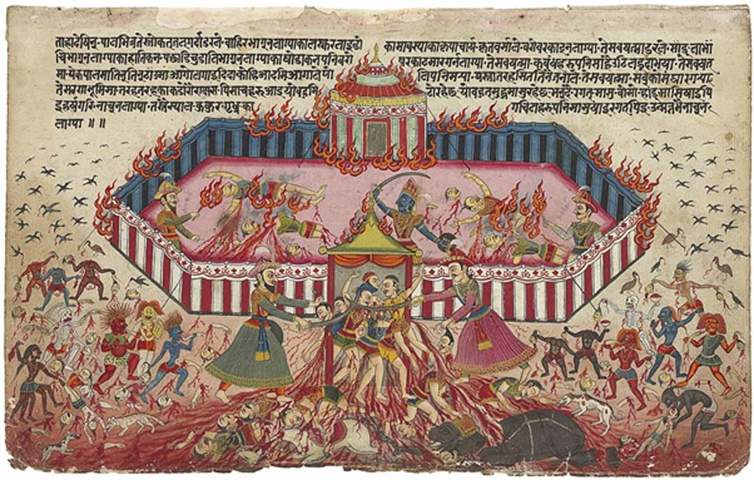 Illustration of Mahabharata