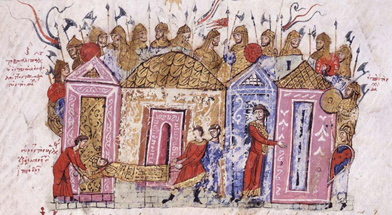 Varangian Guard. Chronicle of John Skylitzes 13th Century