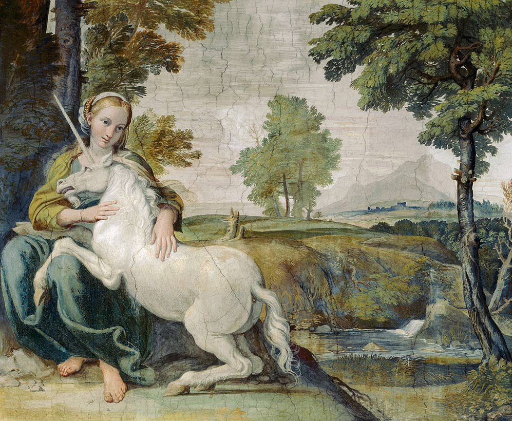 The Virgin and the Unicorn, 1620.