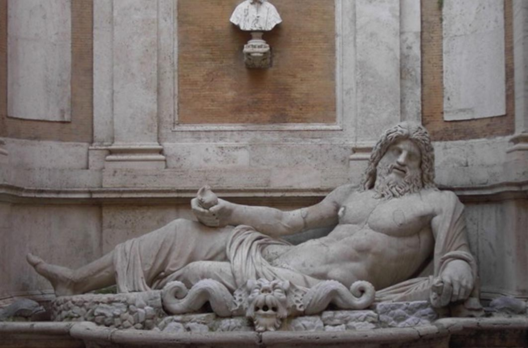 Marforio at the Musei Capitolini (Public Domain)