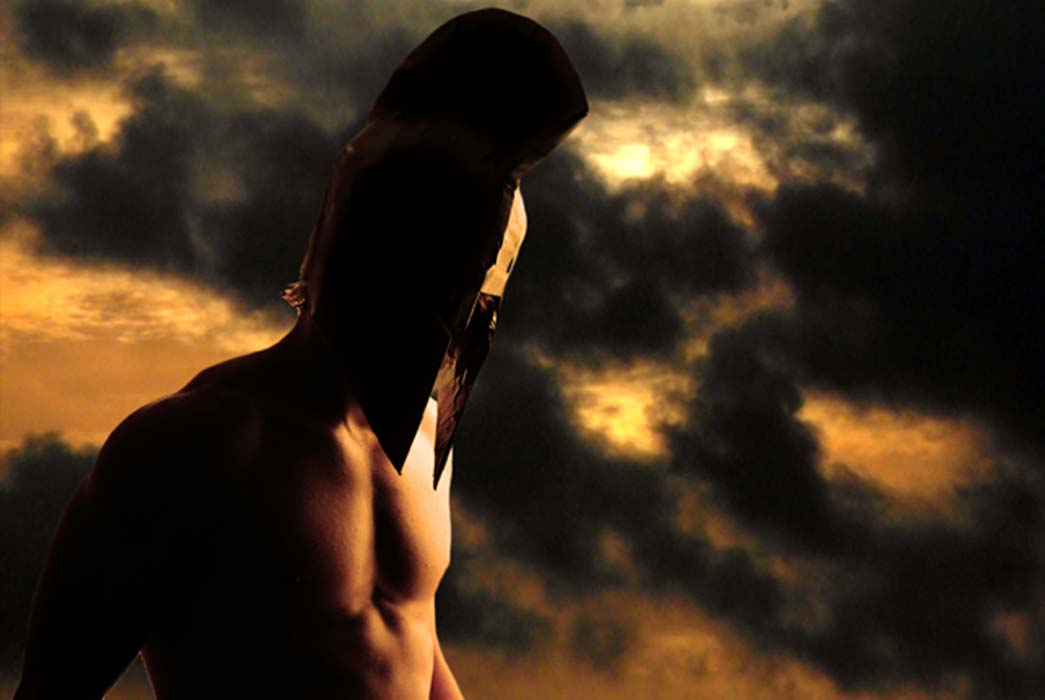 Warrior Model (CC BY-SA 2.0), and an ominous Dark Sky