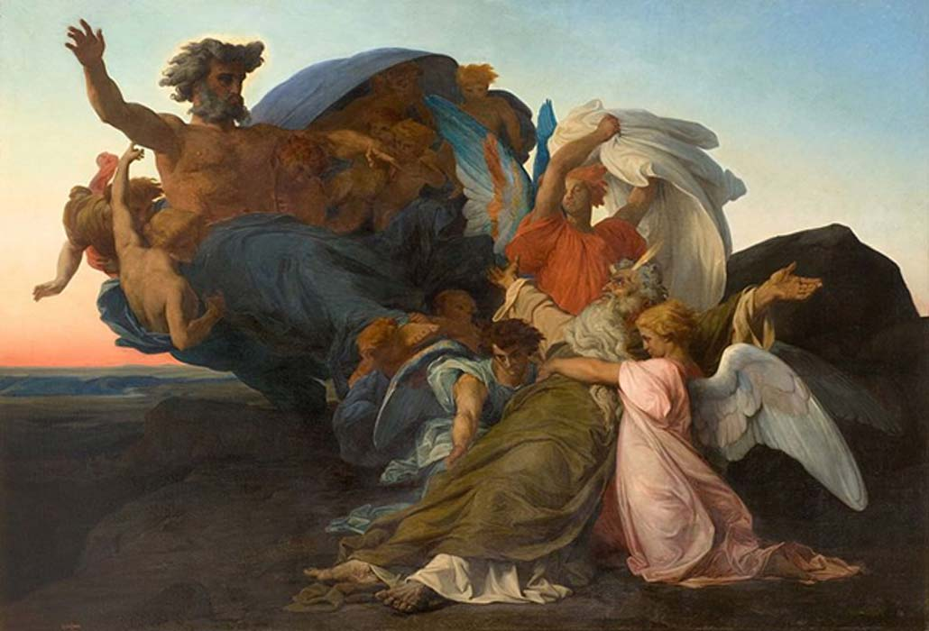 Death of Moses by Alexandre Cabanel  (1823–1889)