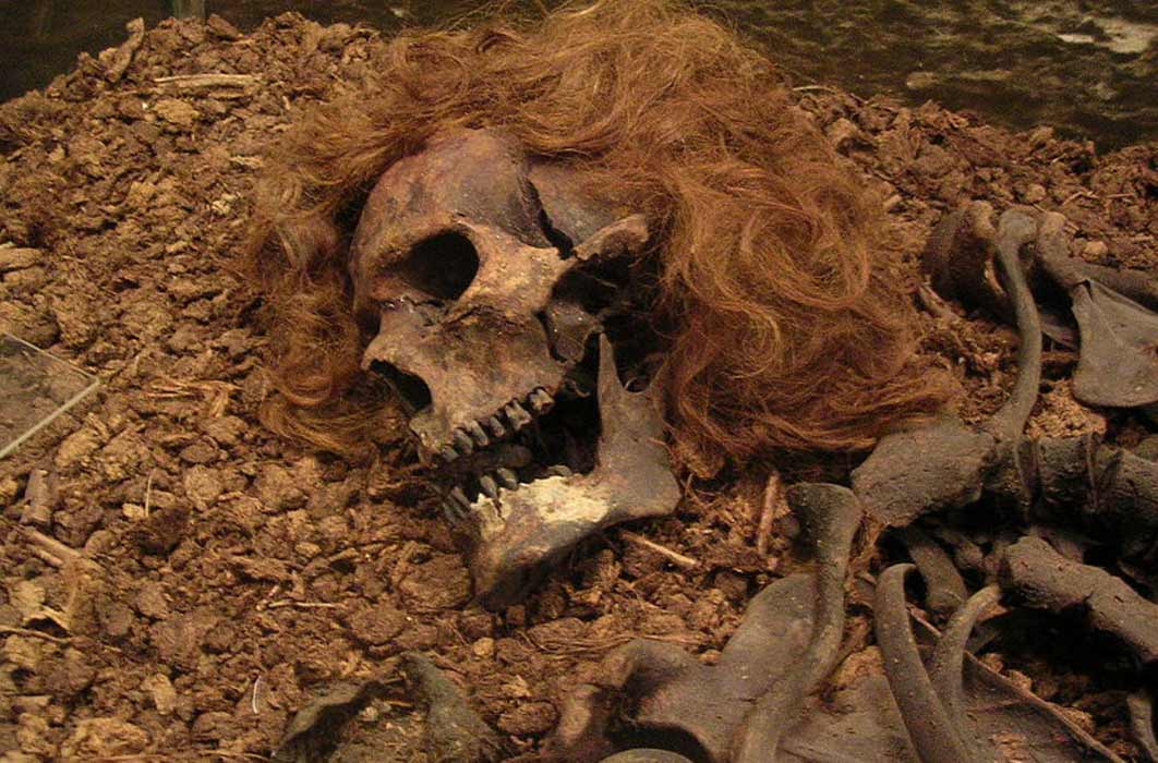 The Bocksten Man is the remains of a Medieval male body found in a bog in Varberg Municipality, Sweden (CC BY-SA 2.0)
