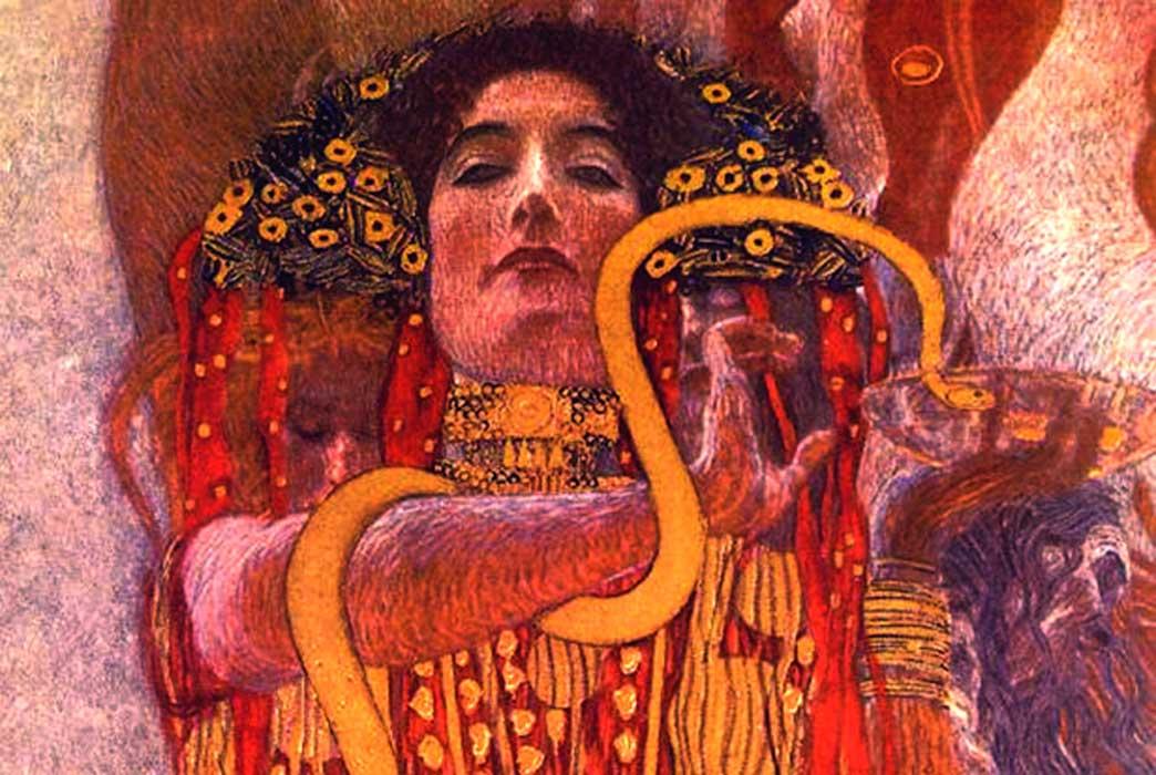 Hygeia; Gustav Klimt's painting 'Medicine'
