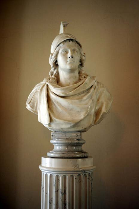 A bust of Alexander the Great