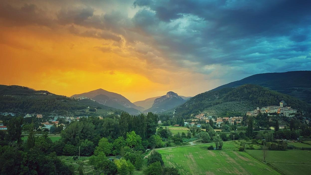 The picturesque Ferentillo (Image: Author provided)