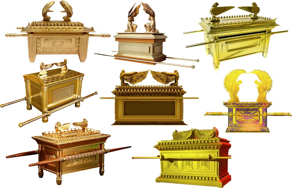 Designs of the Ark of the Covenant ( Bruno Marques Designer /Pixabay)