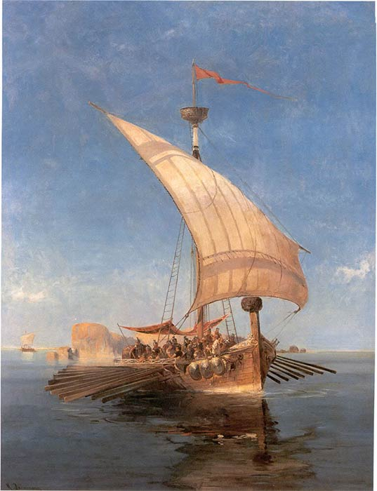 The Argo, by Konstantinos Volanakis (1837–1907) (Public Domain)