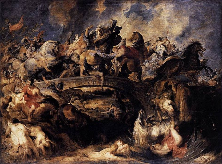 Battle of the Amazons by Peter Paul Rubens (1617) Web Gallery of Art (Public Domain)