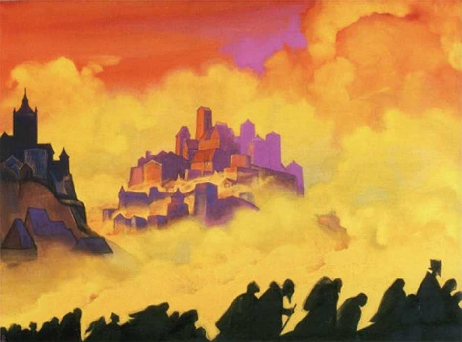 Armageddon by Nicholas Roerich (1935) (Public Domain)