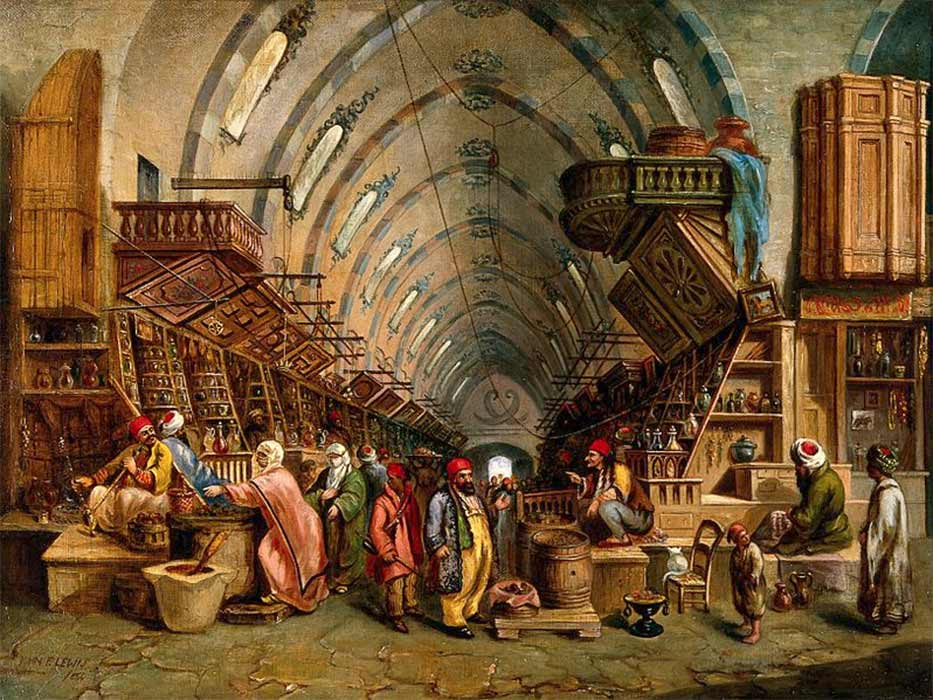 The Bazaar (Wellcome Images/ CC BY-SA 4.0)