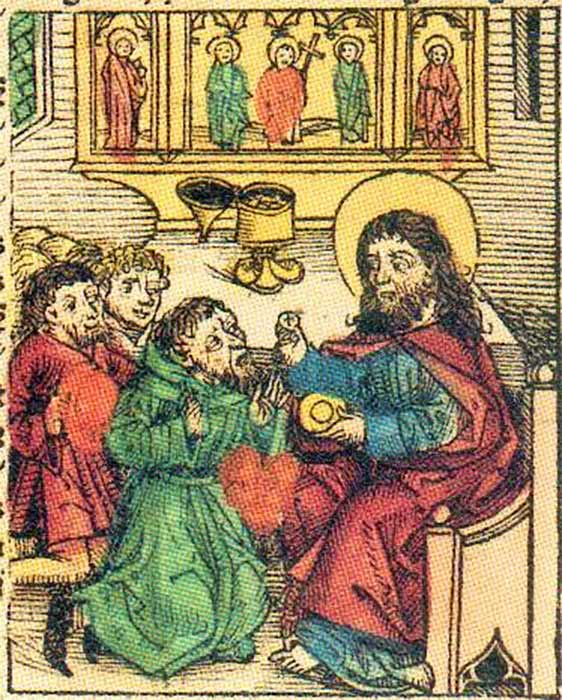 Prester John from Hartmann Schedel's Nuremberg Chronicle. (1493) (Public Domain)