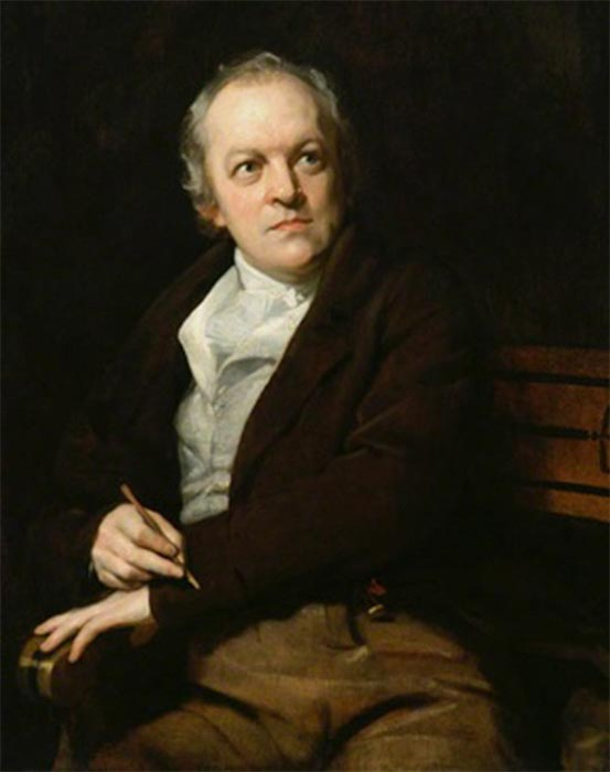 William Blake by Thomas Phillips (1807) National Portrait Gallery (Public Domain)