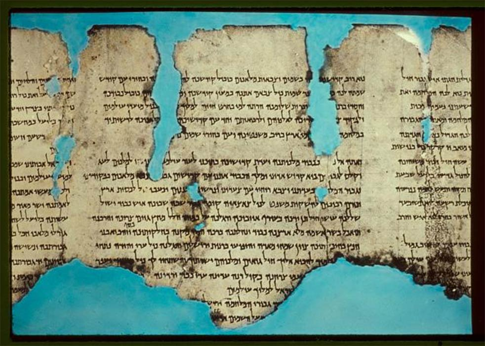 Codices largely replaced scrolls similar to this. (CC0)