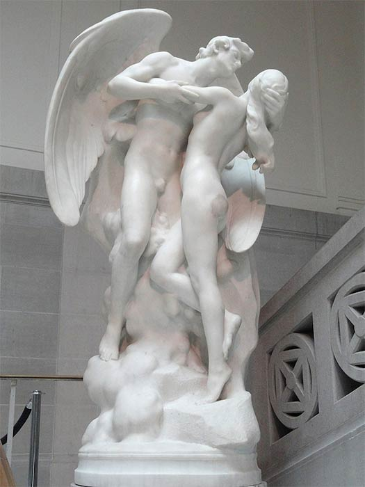 The Sons of God Saw the Daughters of Men That They Were Fair, sculpture by Daniel Chester French. (CC0)