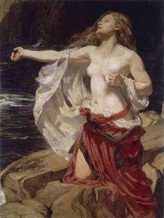 'Ariadne' by Herbert James Draper (1905). ( Public Domain )