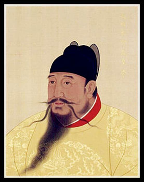 Yongle Emperor of Ming dynasty (Public Domain)