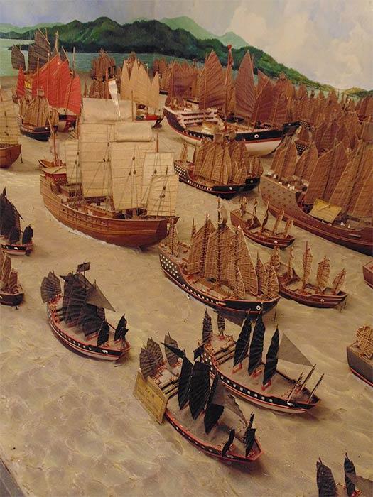 Zheng He's fleet. Cheng Ho Cultural Museum – Exhibition (CCO)
