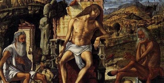 The Meditation on the Passion by Vittore Carpaccio (1510) (Public Domain)