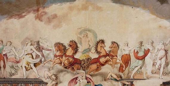Apollo driving the Chariot of the sun and his muses by Giovanni Battista Maderna, IItalian, Verona (1758–1803) Metropolitan Museum of Art  (Anton biederwolf/ CC BY-SA 4.0)