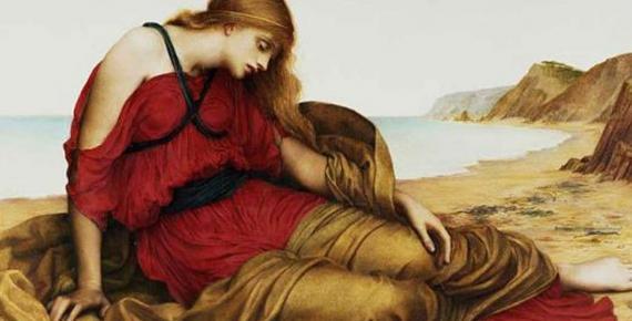 'Ariadne in Naxos' (1877) by Evelyn De Morgan. (Public Domain)