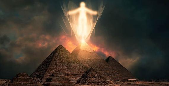 travel, sunset, landscape, sky, sand, desert, light, spirit, new age, pyramids (CC0)