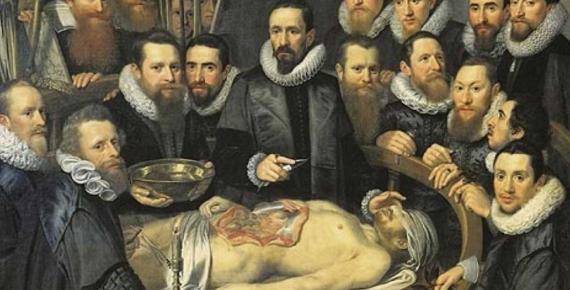Anatomy lesson of Dr. Willem van der Meer by Michiel Jansz van Mierevelt (1617) (Public Domain)