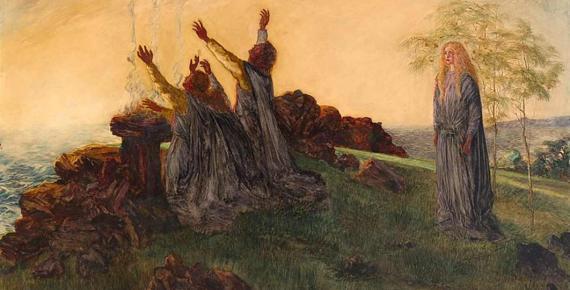 The Passing of St. Brigid of Kildare. Smithsonian American Art Museum (CC0)