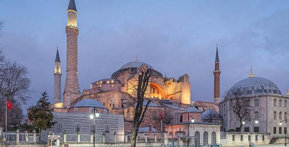 Hagia Sophia in February 2020 (A.Savin/ Public Domain)