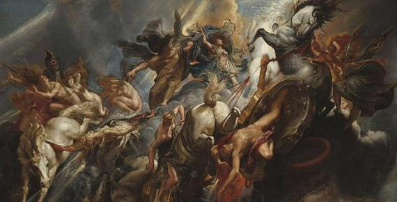 The Fall of Phaeton by Peter Paul Rubens (1604) National Gallery of Art (Public Domain)