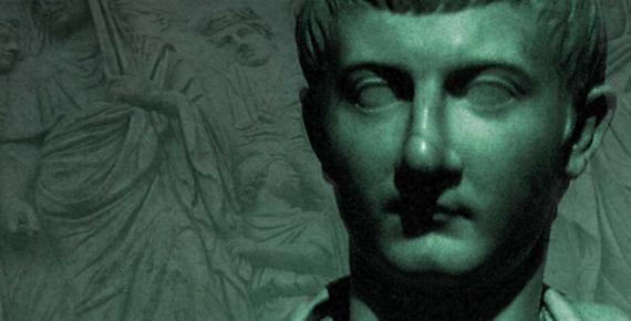 Deriv; Julius Caesar Drusus (13 BC–23 CE). Procession on the Ara Pacis in background