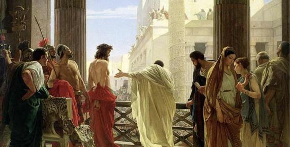 Ecce homo, Behold The Man by Antonio Ciseri (1880)