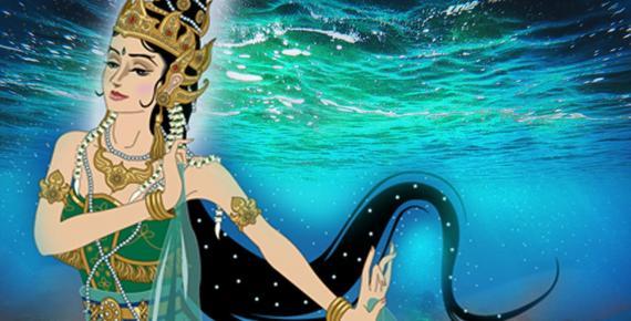 Deriv; Kanjeng Ratu Kidul, the Queen of the Southern Sea of Java.
