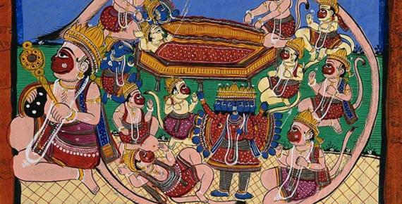 The Sky, the Sun & the King: Mischievous and Divine Monkeys in Asian Myth