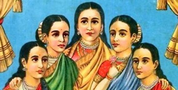 The Five Maidens - Panchakanya