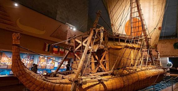 The Ra II in the Kon-Tiki Museum (Ralf Roletschek / Public Domain)