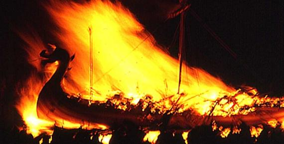 The Burning Galley