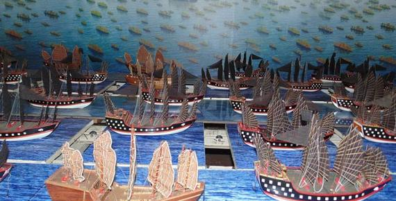 Zheng He's fleet Cheng Ho Cultural Museum – Exhibition (CC0)