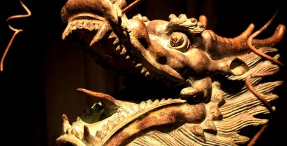 Dragon Sculpture, China.