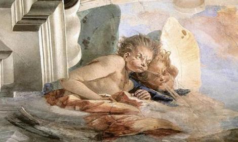 The Wind by Giovanni Battista Tiepolo (1746) Pallazo Labia (Public Domain)