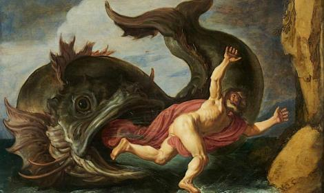 Jonah and the Whale by Peter Lastman (1621)Museum Kunstpalast  (Public Domain)