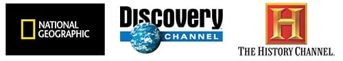National Geographic, Discovery, History Channel and Ancient Origins